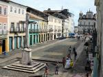 The Pelourinho - Salvador's historic centre.