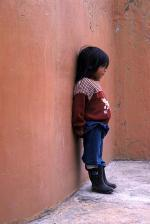 Image: Girl in corner - Arica and Lauca