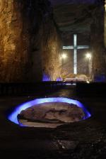 The main chamber of the Salt cathedral