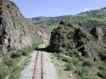Image: Train track - Baños and Riobamba