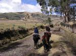 Riding along an ancient Inca highway
