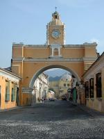 Image: Arch street - Antigua and Guatemala City