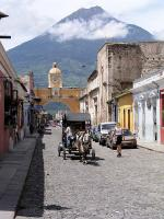 Image: Antigua street - Antigua and Guatemala City