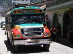 Image: Local bus - Chichicastenango, Quetzaltenango and Cuchamantanes