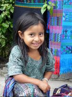 Image: Local girl - Lake Atitlán