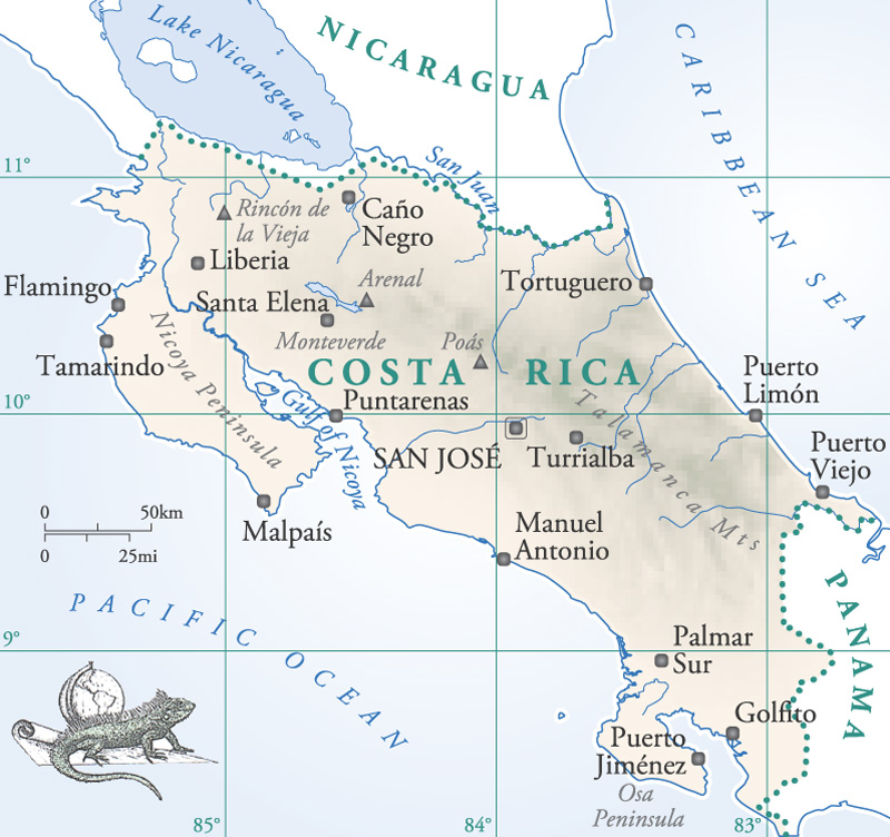 Image details for costa ricag costa rica costa rica costa rica country map home page gumiabroncs Images
