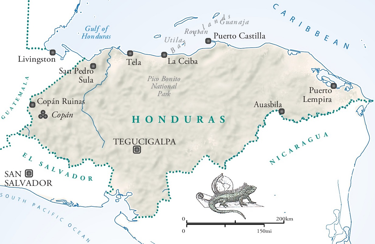 Image details for hondurasjpg Honduras map