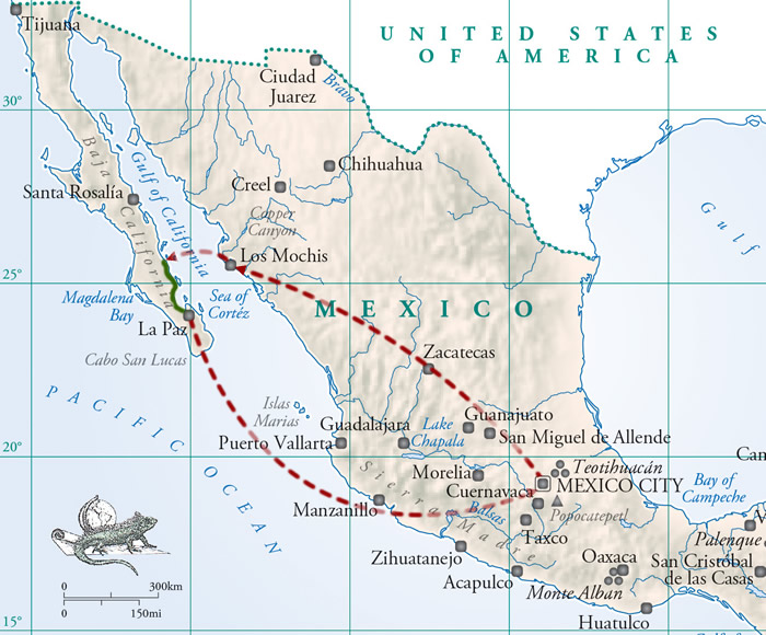 Mexico Itinerary The Less Visited West Boasts Beautiful
