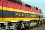 Image: Panama locomotive - Canal Zone