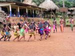 The Embera community dance.