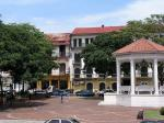 The main square in Casco Viejo.