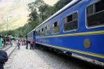 MLP trek: Day 6 (The local train at the 'Hidro'.) - The Inca Trails, Peru