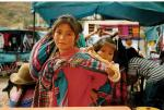 Pisac market, Sacred Valley of the Incas, Peru