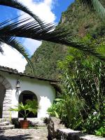 Tropical gardens at Inkaterra Machu Picchu