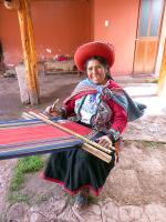 Image: Weaving - Sacred Valley