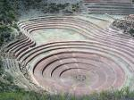 The Inca terraces of Moray